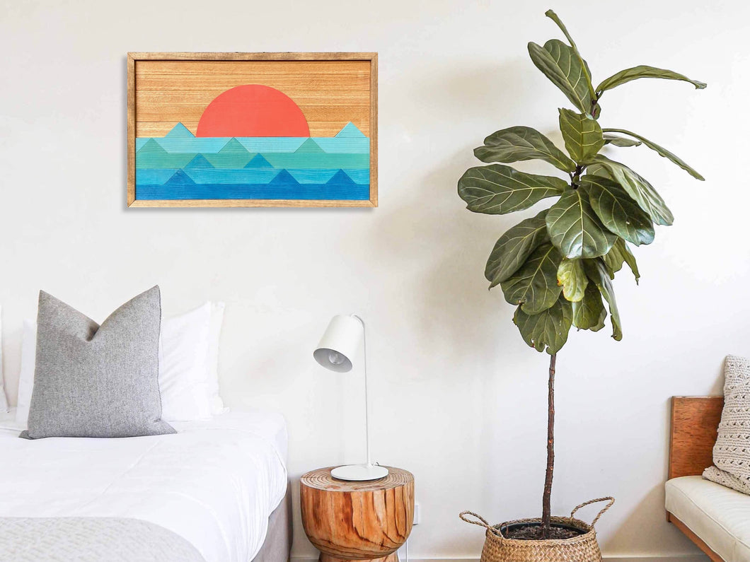 Ocean Wood Wall Art - 16