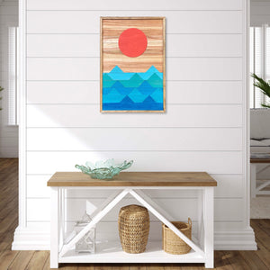 "Ocean Wood Wall Art - 32""x22"""
