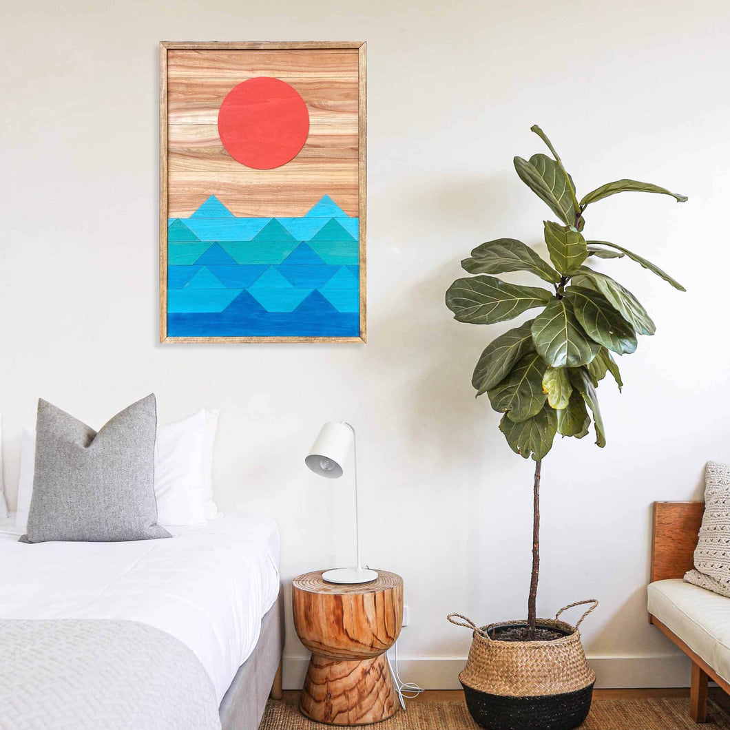 Ocean Wood Wall Art - 32