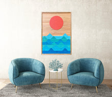 "Ocean Wood Wall Art - 36""x26"""