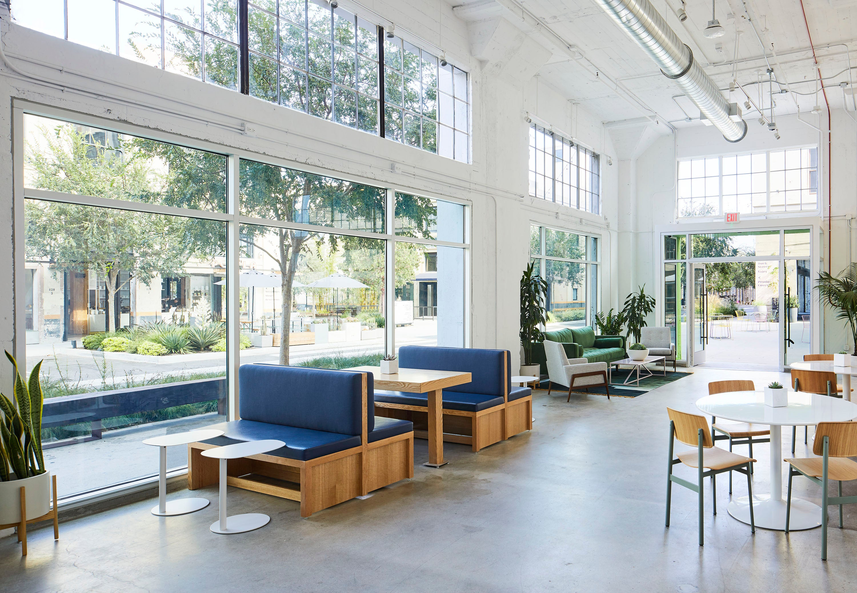 Shopify in LA coworking space
