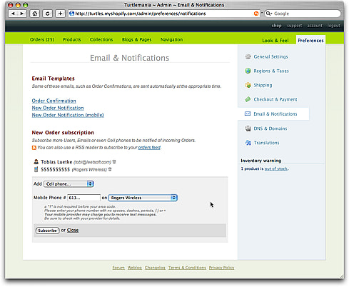 Email & Notifications