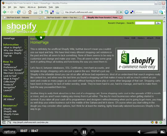 Shopify Introduction