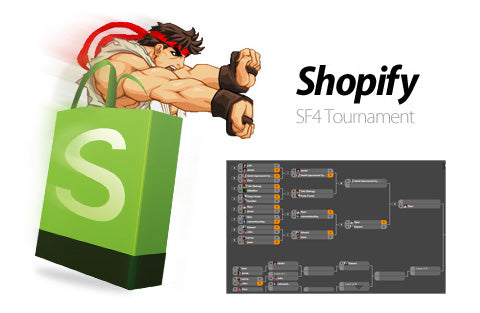 Shopify Street Fighter 4 Tournament!