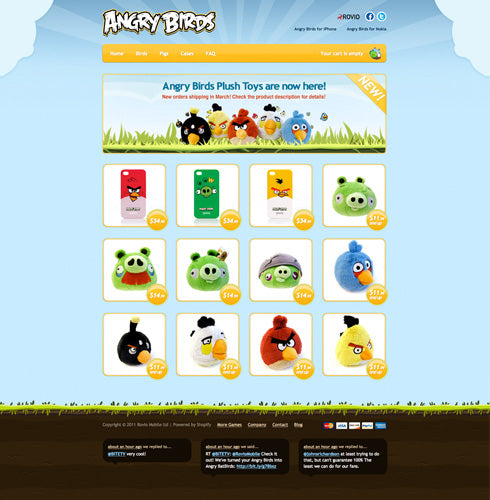 Angry Birds Online Store Sells Over 2 Million Plush Toys