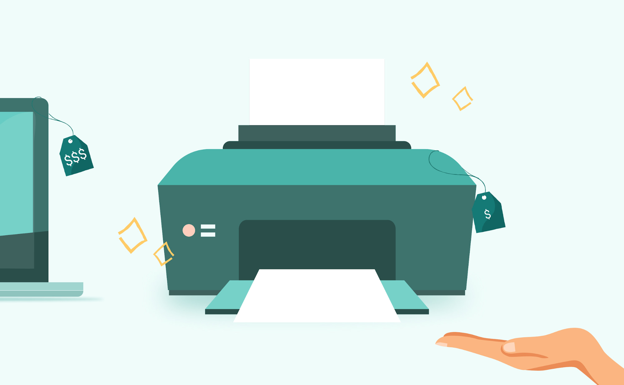 Selling a companion printer with a laptop is an example of cross-selling.