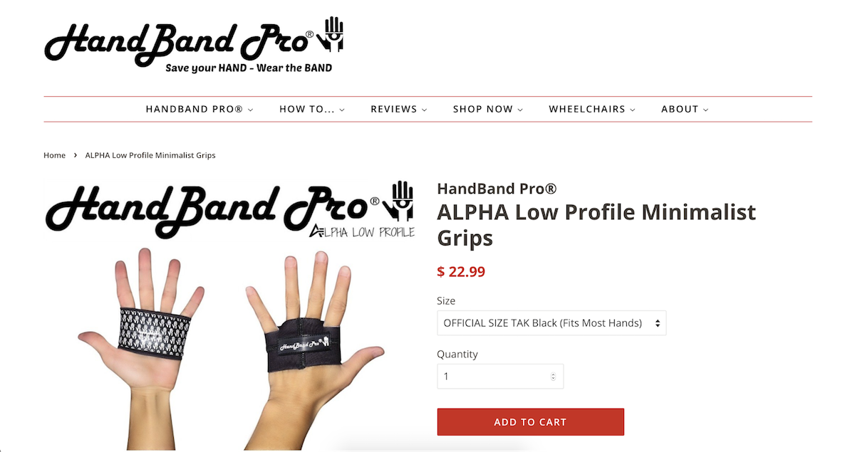 Hand Band Pro sells products to enthusiastic hobbyists.