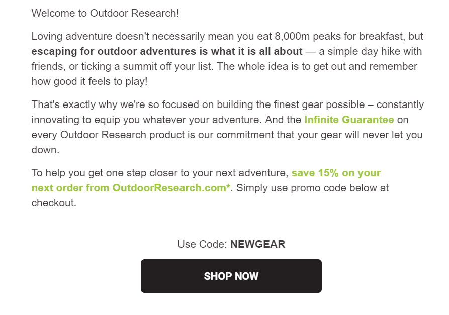 Note To State Media It Wasnt Outdoor >> 6 Creative Ways To Thank Customers For Their Purchase