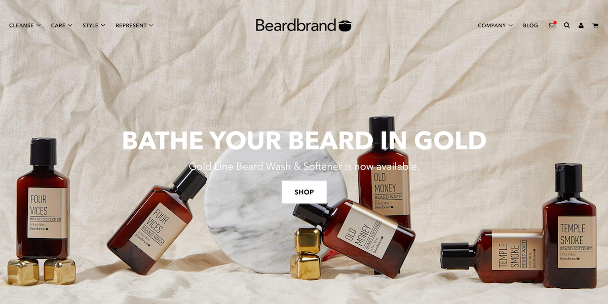Beardbrand started as a side project.