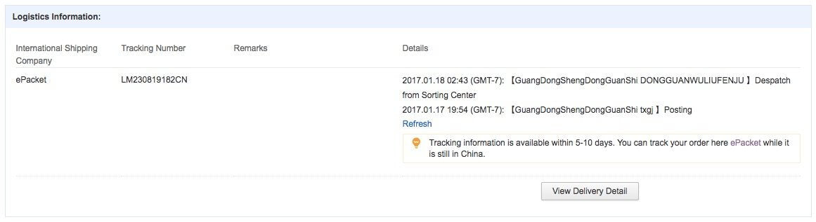 Epacket Guide To Epacket Tracking Epacket Delivery Shipping