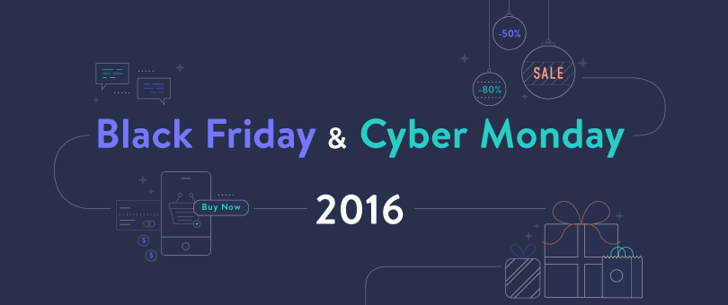 An Illustrated Breakdown of Black Friday and Cyber Monday 2016