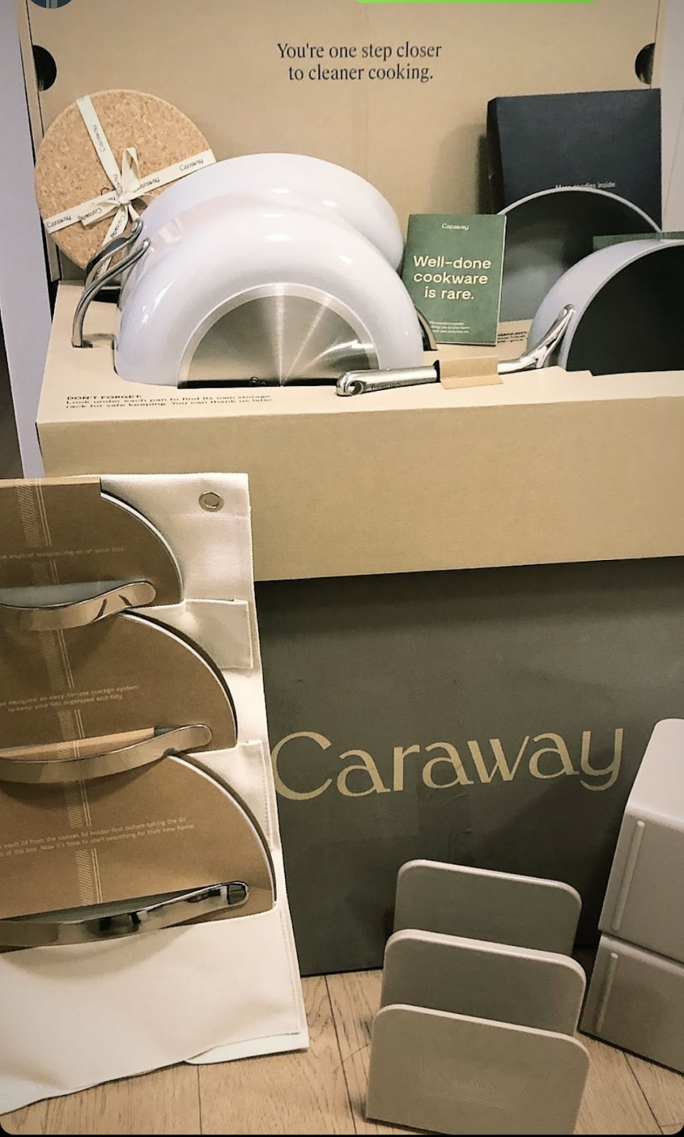 Caraway unboxing