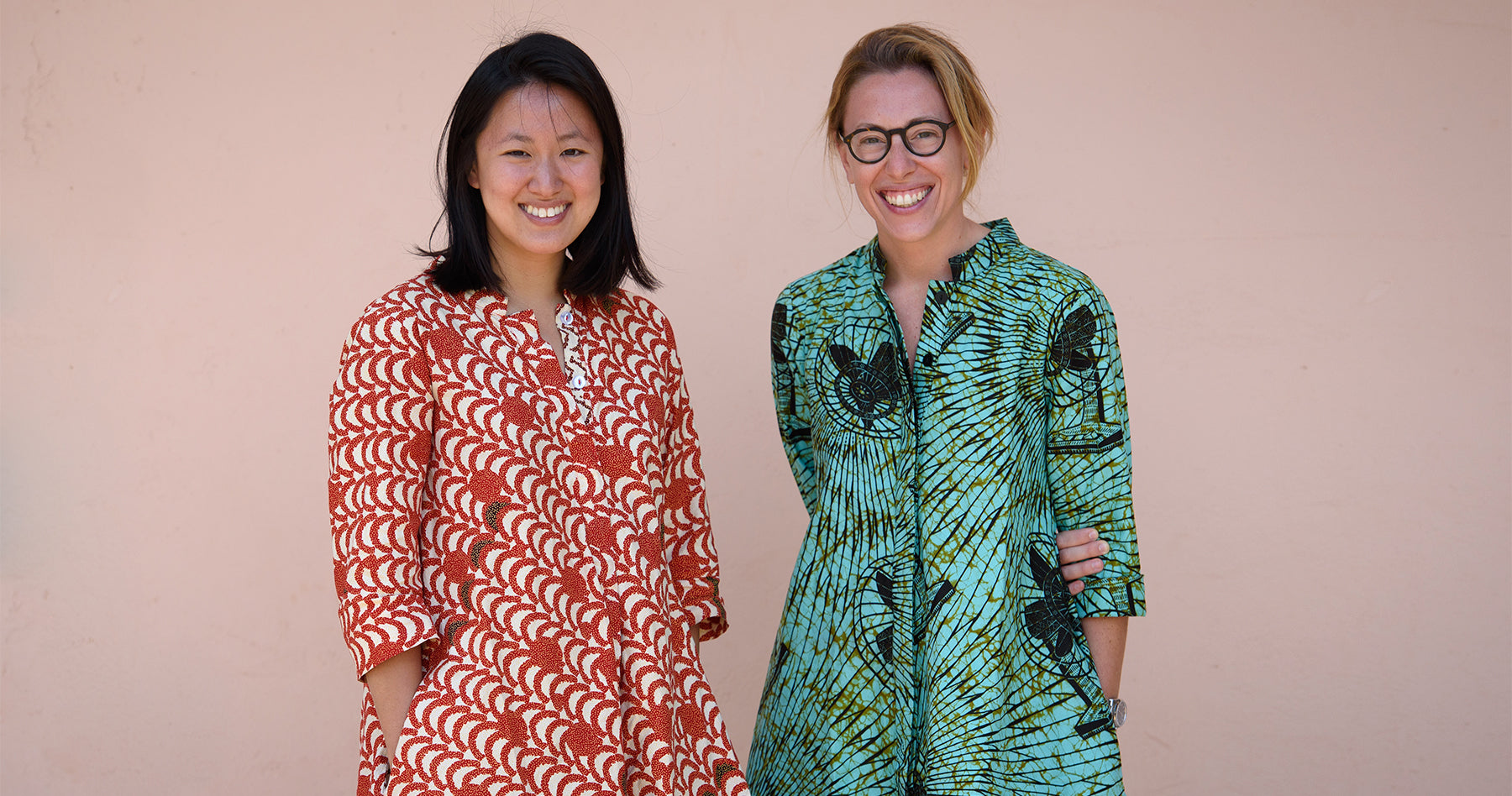 The Founders of Zuri Dress, Ashleigh Gersh Miller and Sandra Zhao