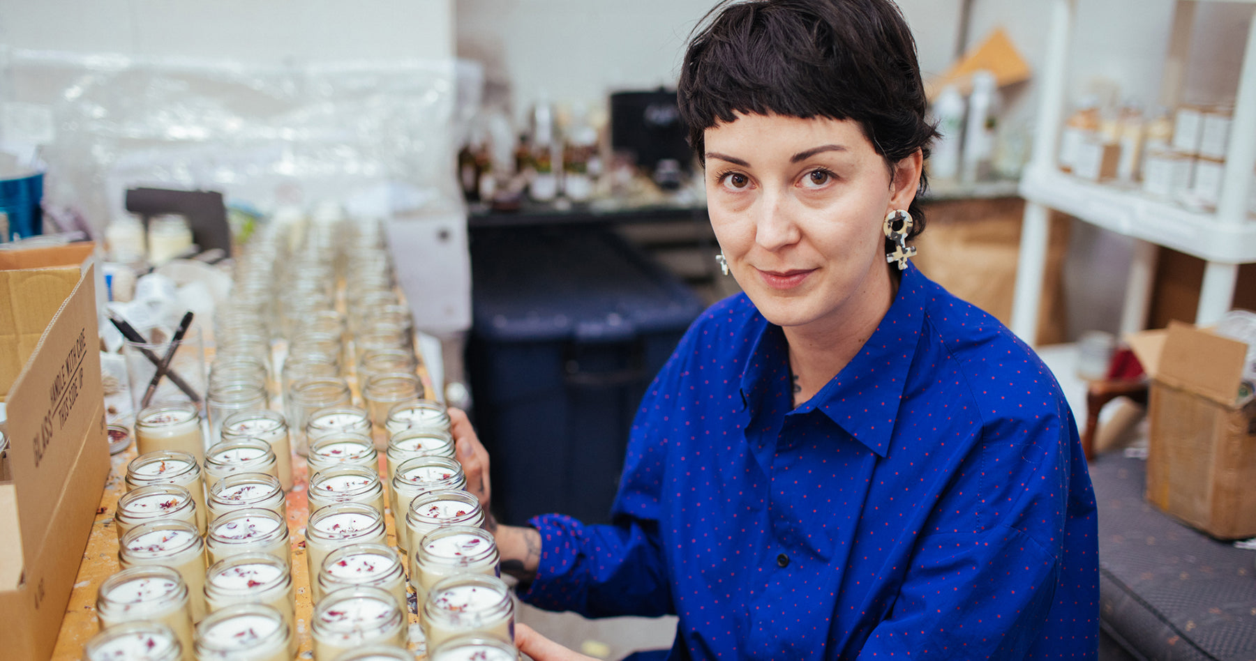 Kerry Butt, Founder and Candle Maker, RedSky Shop