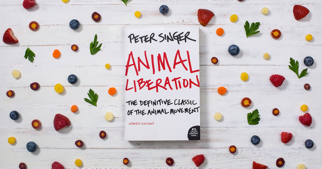Animal Liberation by Peter Singer book cover
