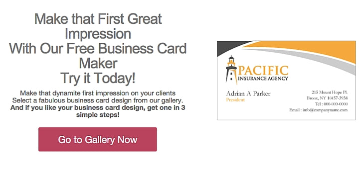 10 free business card makers with customizable templates 9 design mantic reheart Images