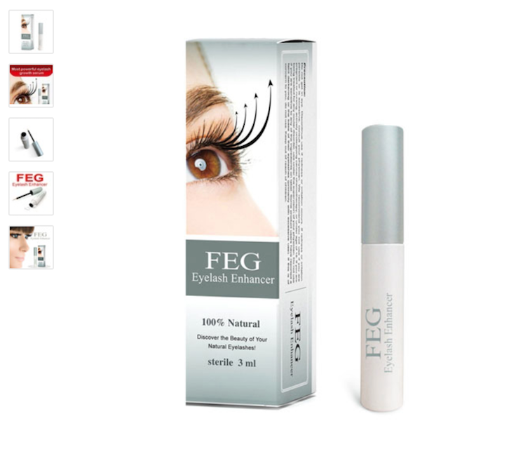 Product Ideas Eyelash Serum