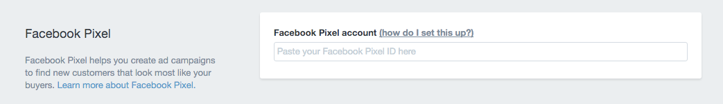 Where to place Facebook Pixel ID