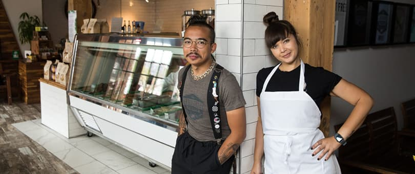 The Herbivorous Butcher founders Aubry and Kale Walch