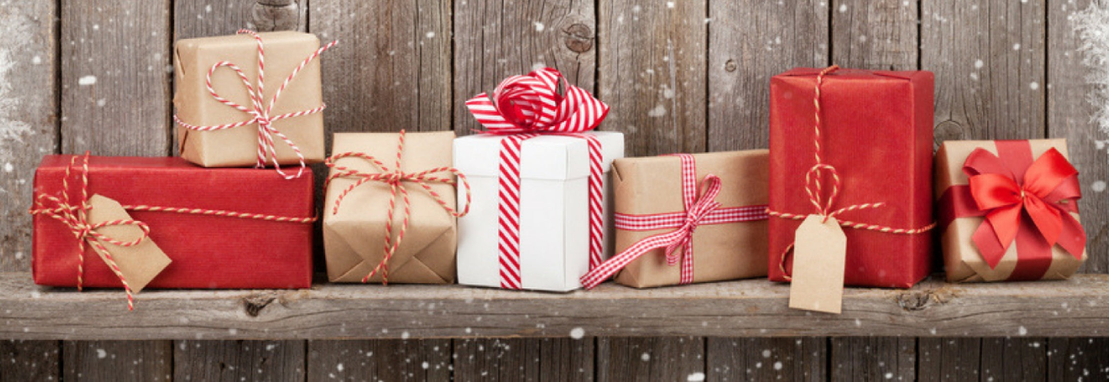 Collection of gift packages