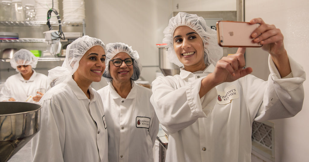 The family of founders behind food business, Jaswant's Kitchen
