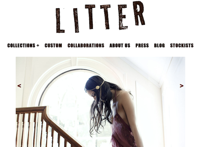 Litter screenshot