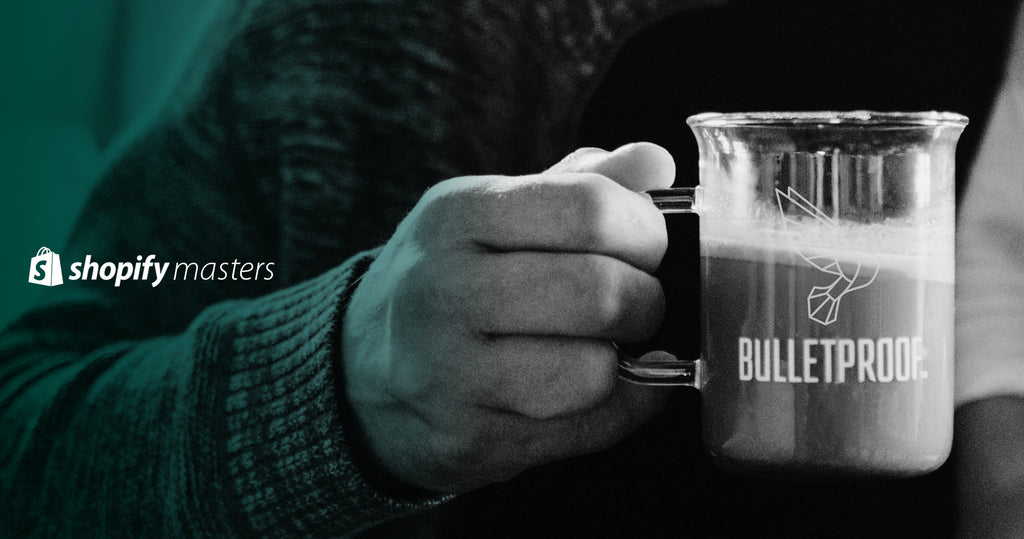 A cup of coffee from Bulletproof.