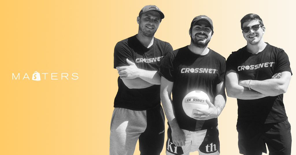 Founders of Crossnet, Greg Meade, Mike Delpapa, and Chris Meade.