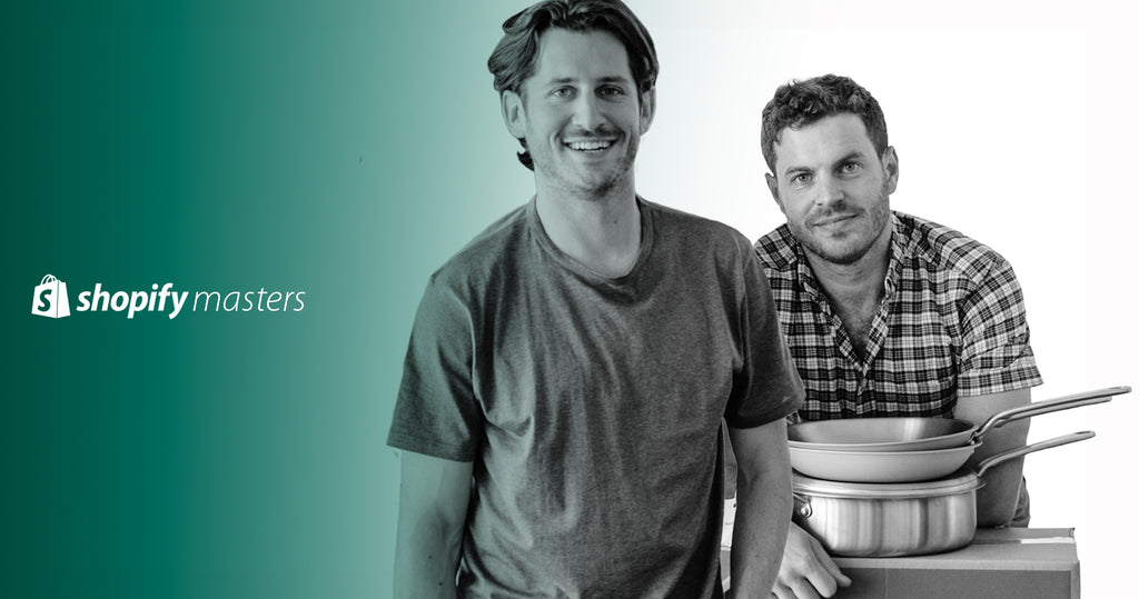 Founders of Made In Cookware, Chip Malt and Jake Kalick.