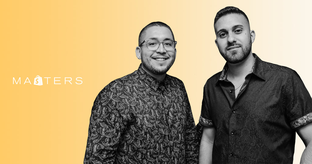 Co-founders of Truff, Nick Guillen and Nick Ajluni.