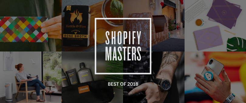 best of shopify masters in 2018