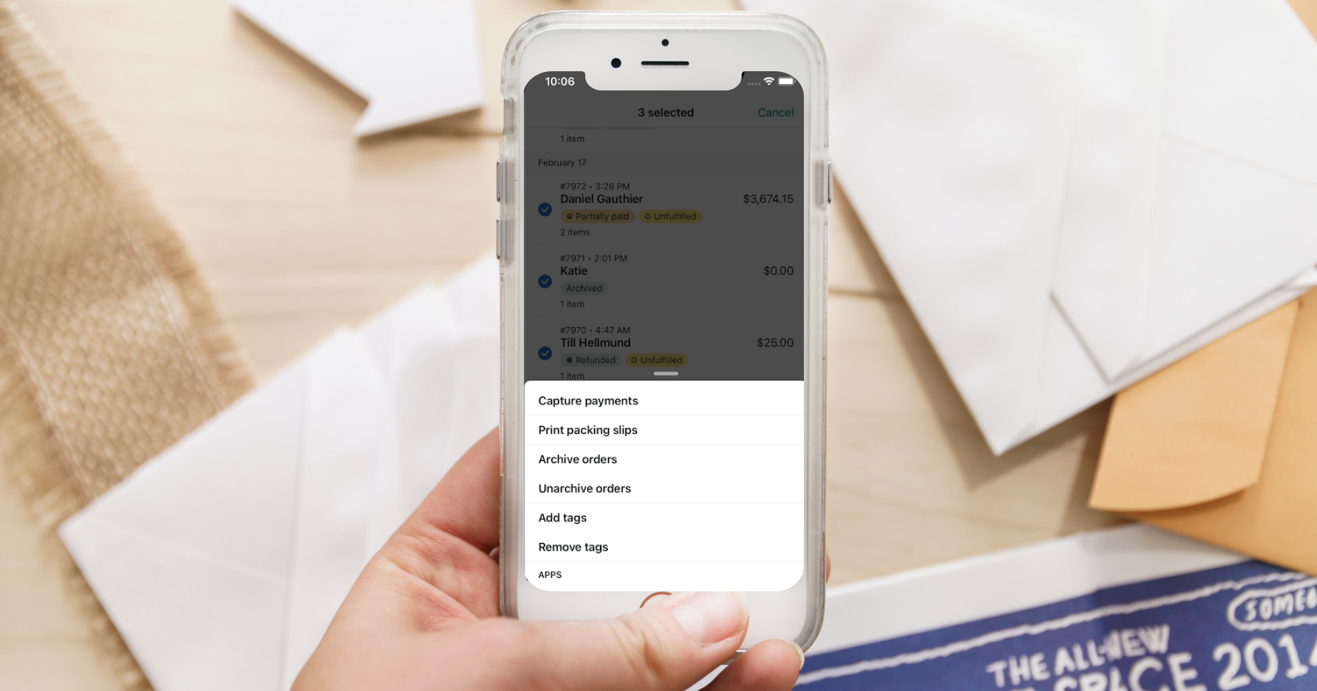 Level up Order Management and Fulfillment With Mobile