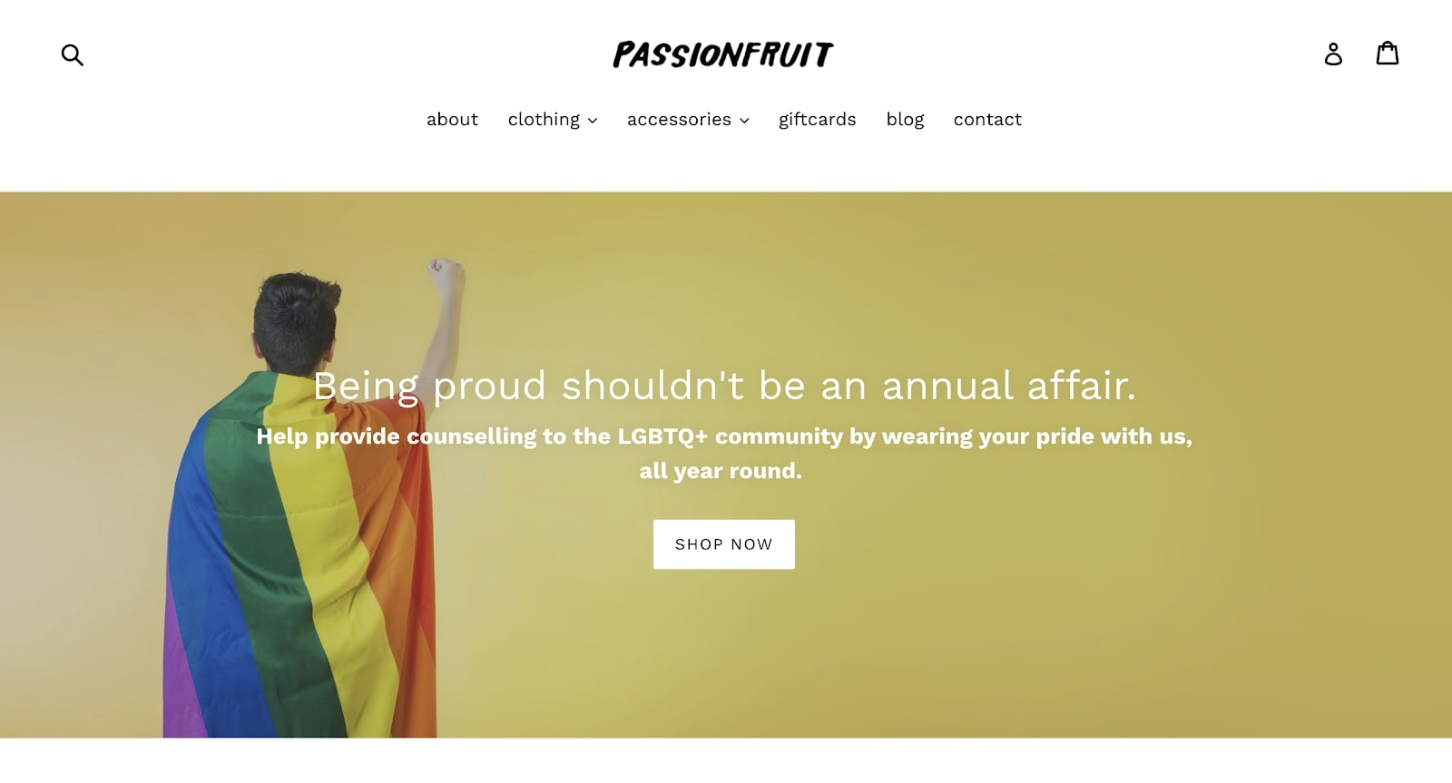 Passionfruit Print on Demand