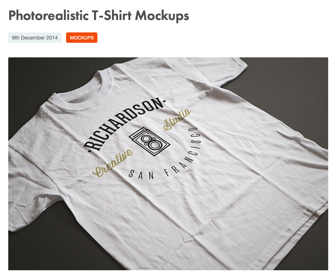 Photorealistic t shirt from pixelbuddah