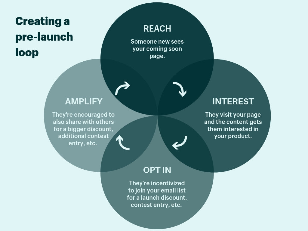 pre-launch campaign viral loop