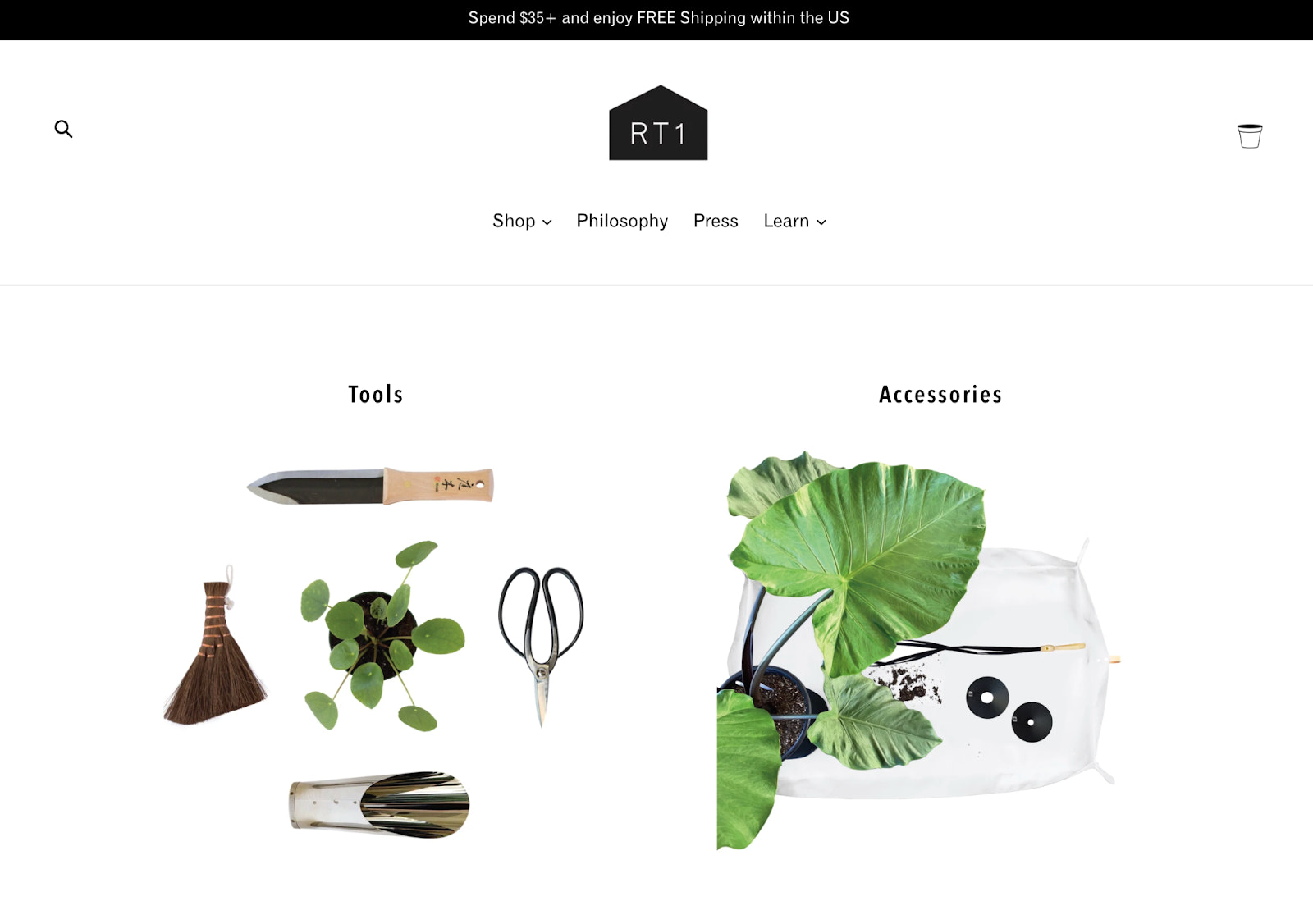 RT1home online boutique