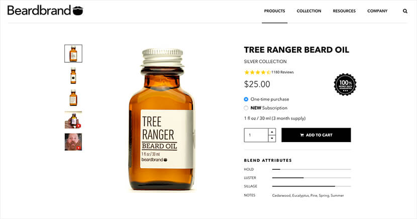 BeardBrand user generated content
