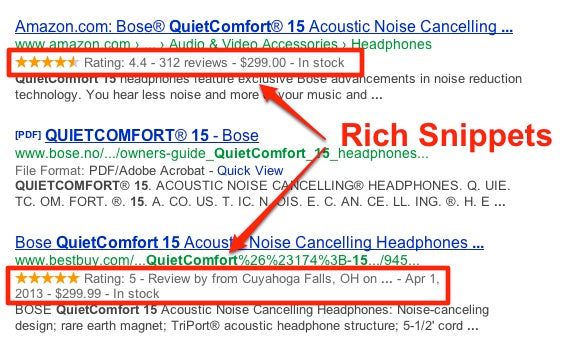 2. Stand Out with Rich Snippets