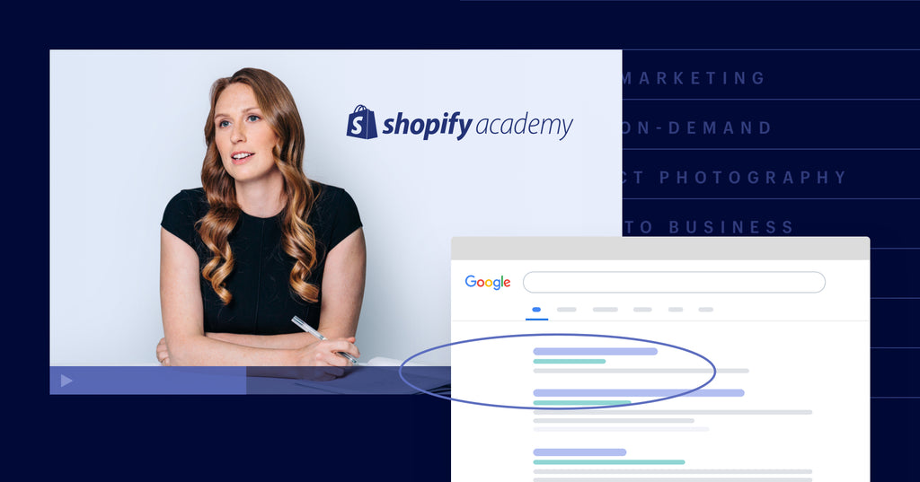 Ecommerce SEO Course on Shopify Academy