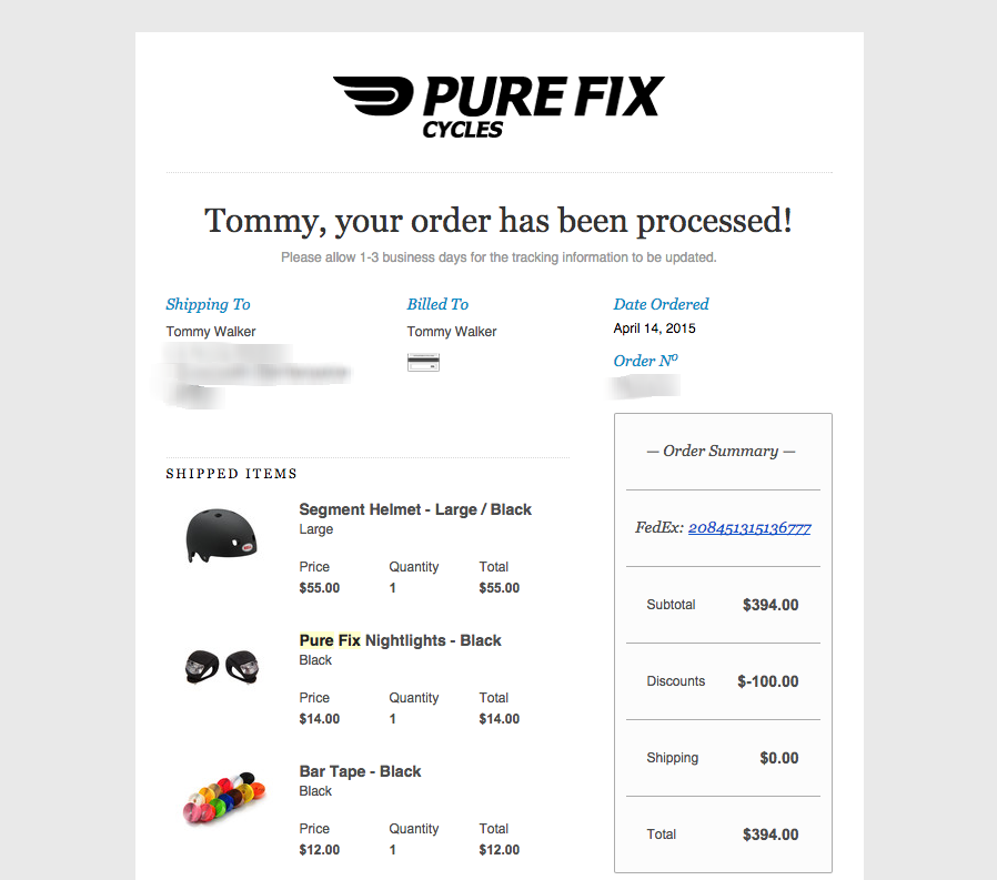 how to change customers order shopify