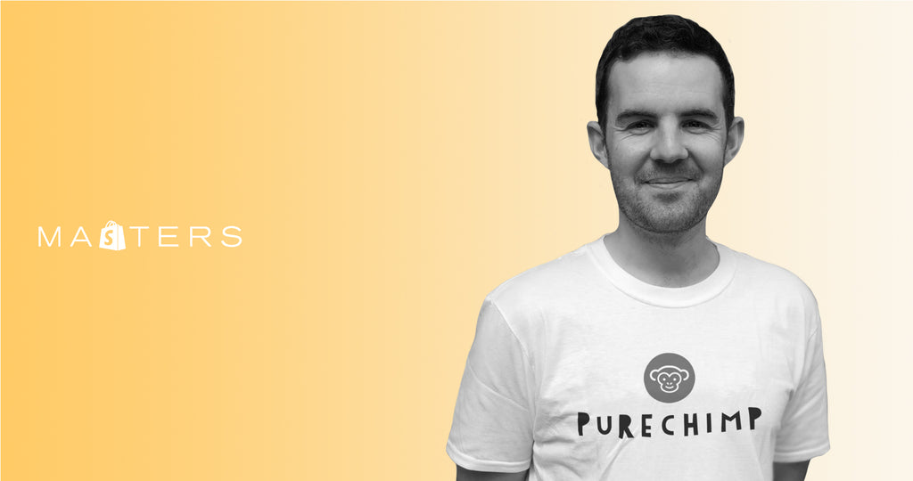 Founder of PureChimp, Dean Legg.