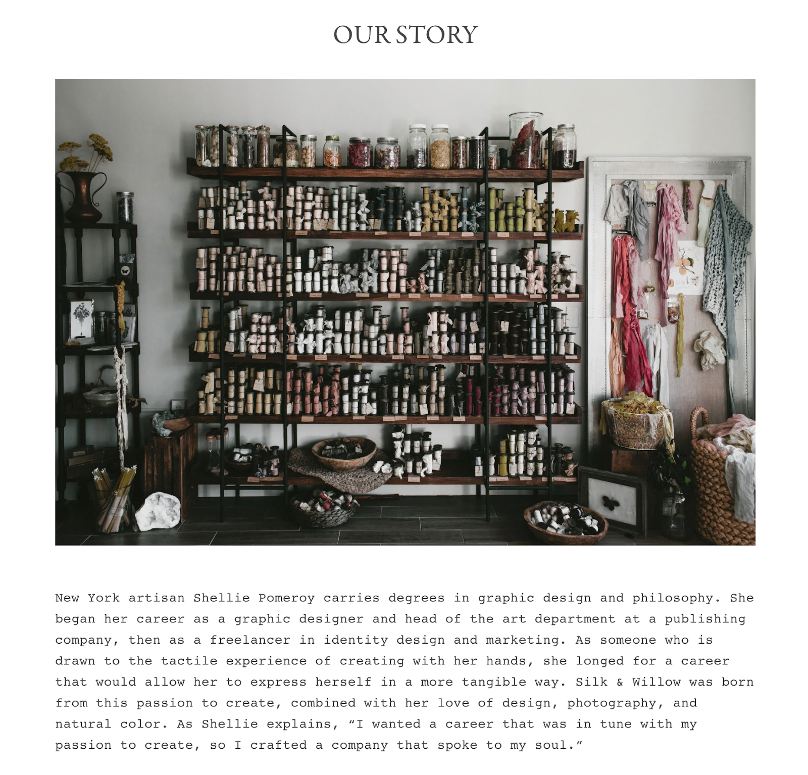 Silk + Willow story