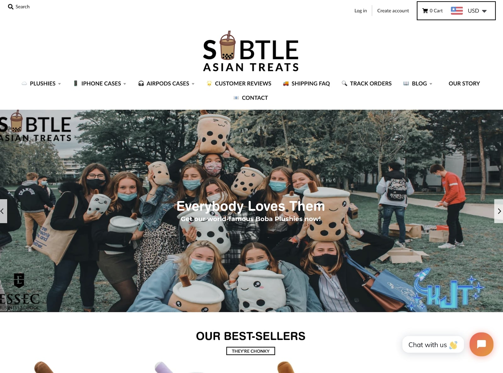 Subtle Asian Treats Dropshipping store