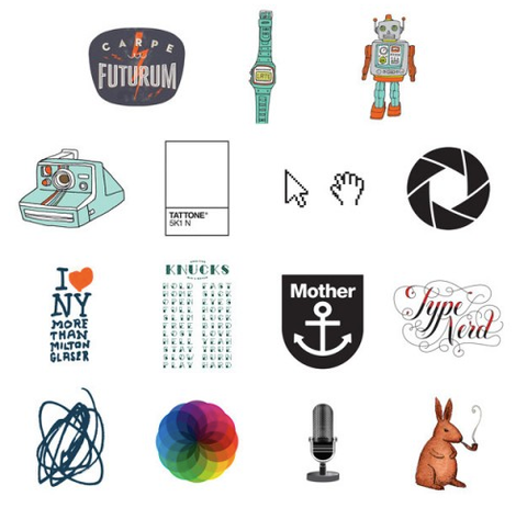 Tina Roth Eisenberg a.k.a. swissmiss Launches Temporary Tattoo Shop: Tattly