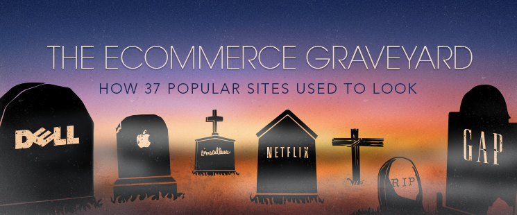 The Ecommerce Graveyard: How 37 Popular Sites Used to Look
