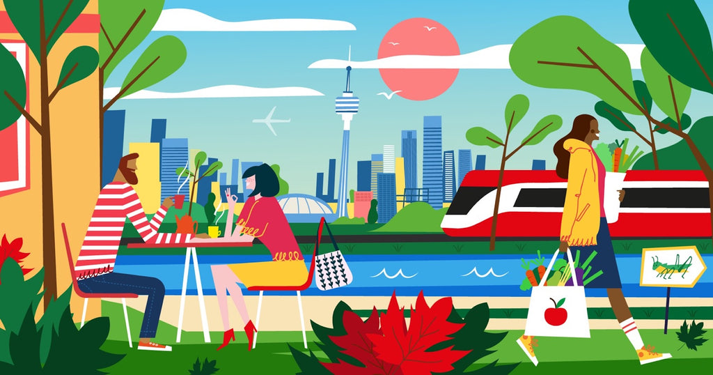Illustration of the City Of Toronto