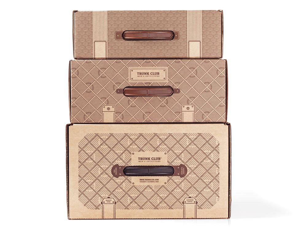 Trunk club packaging experience