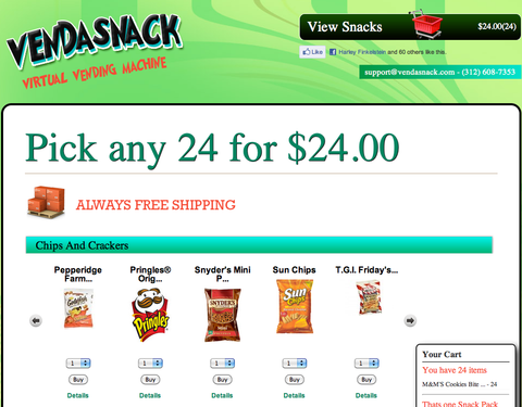 Shopify & Mixergy eCommerce Spotlight: Vend-A-Snack