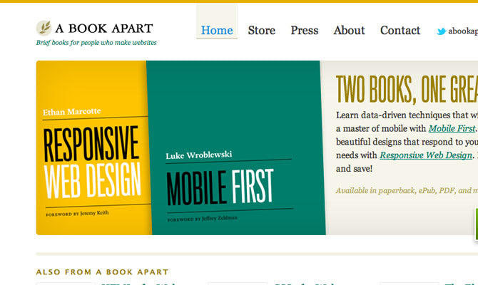 A Book Apart screenshot