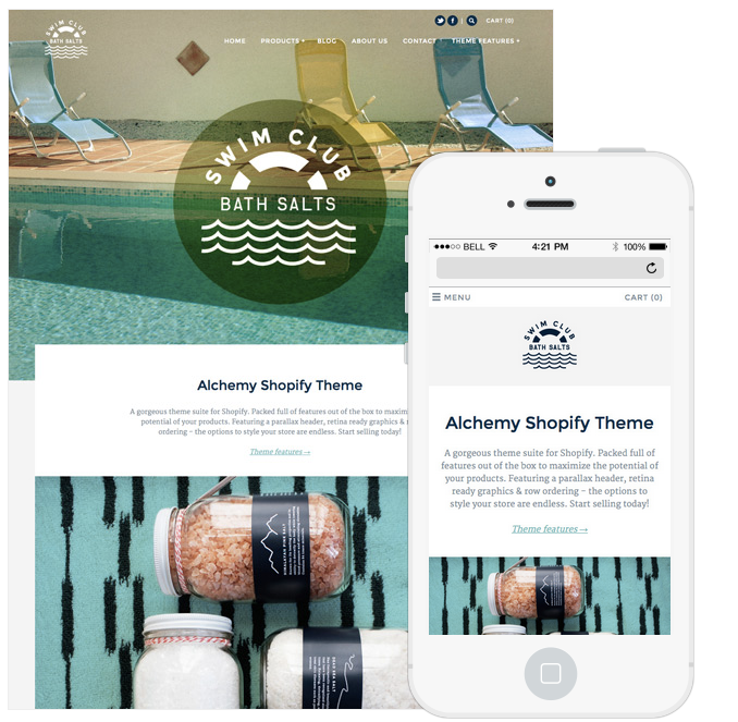 a gorgeous responsive theme suite for shopify alchemy is packed full of features out of the box to maximize the potential of your products